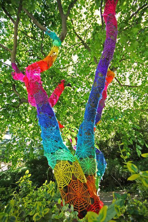 Arte Urbana | Guerrilla Crochet