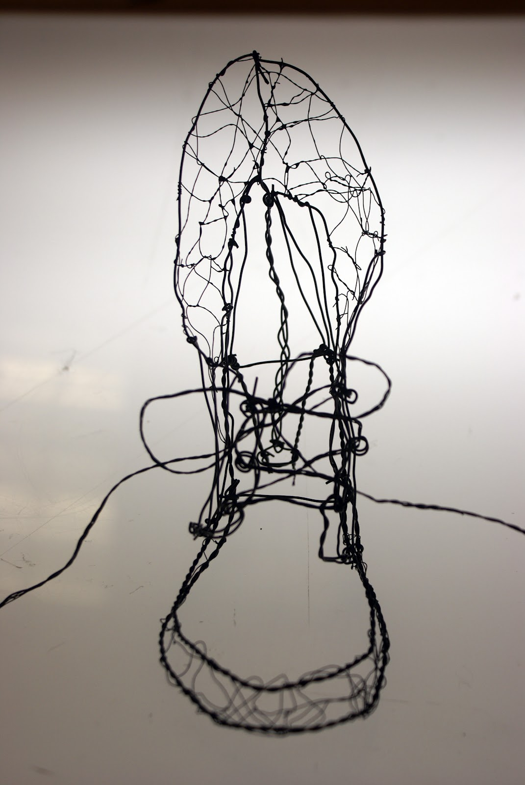 Art Now and Then: 3D Wire Projects