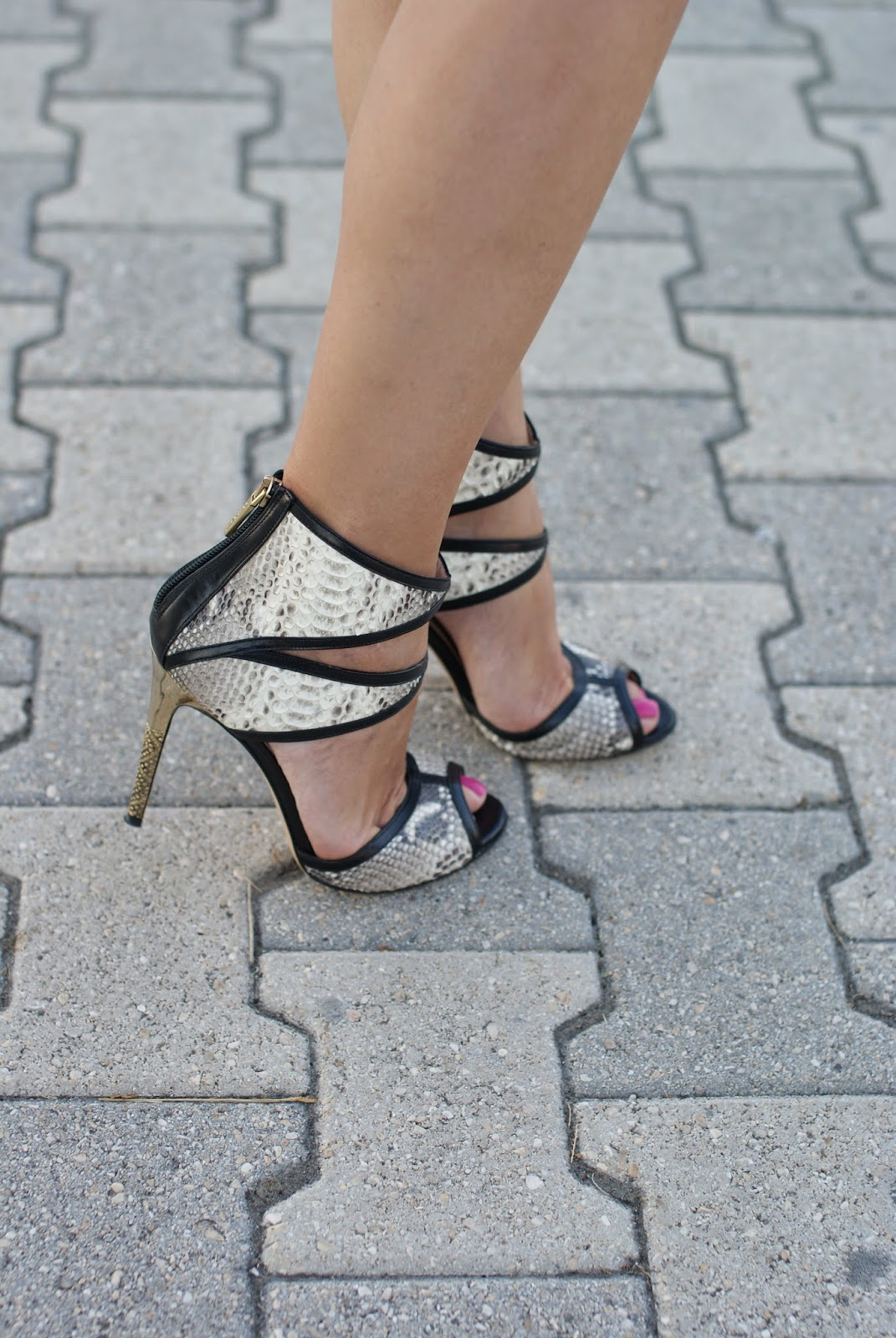 Roberto Botticelli python sandals, Fashion and Cookies, fashion blogger