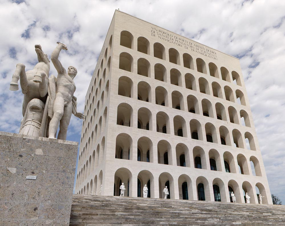 Ripasso facile esempi di architettura fascista in italia for Architettura italiana