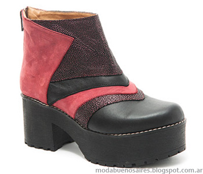 Moda otoño invierno 2014 Traza botas.