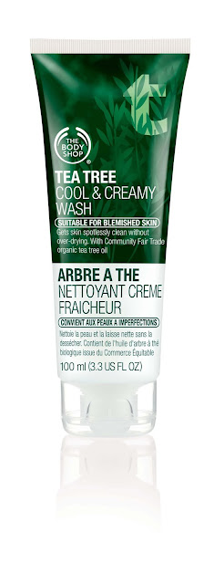New in Town:The Body shop's Tea Tree Cool & Creamy Wash  image