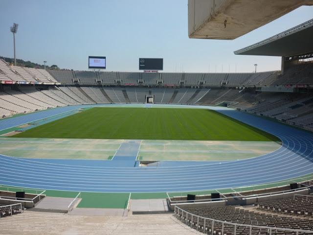 The Barcelona Olympic Stadium