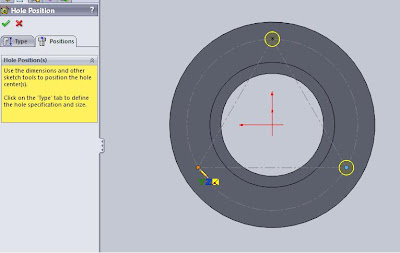 how to make cosmetic threads visible in solidworks
