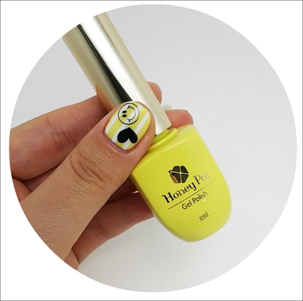 Honey Yellow Nail Polish: SARA NAIL: [Saranail] HONEY POT SEASON 2/Review For GEL