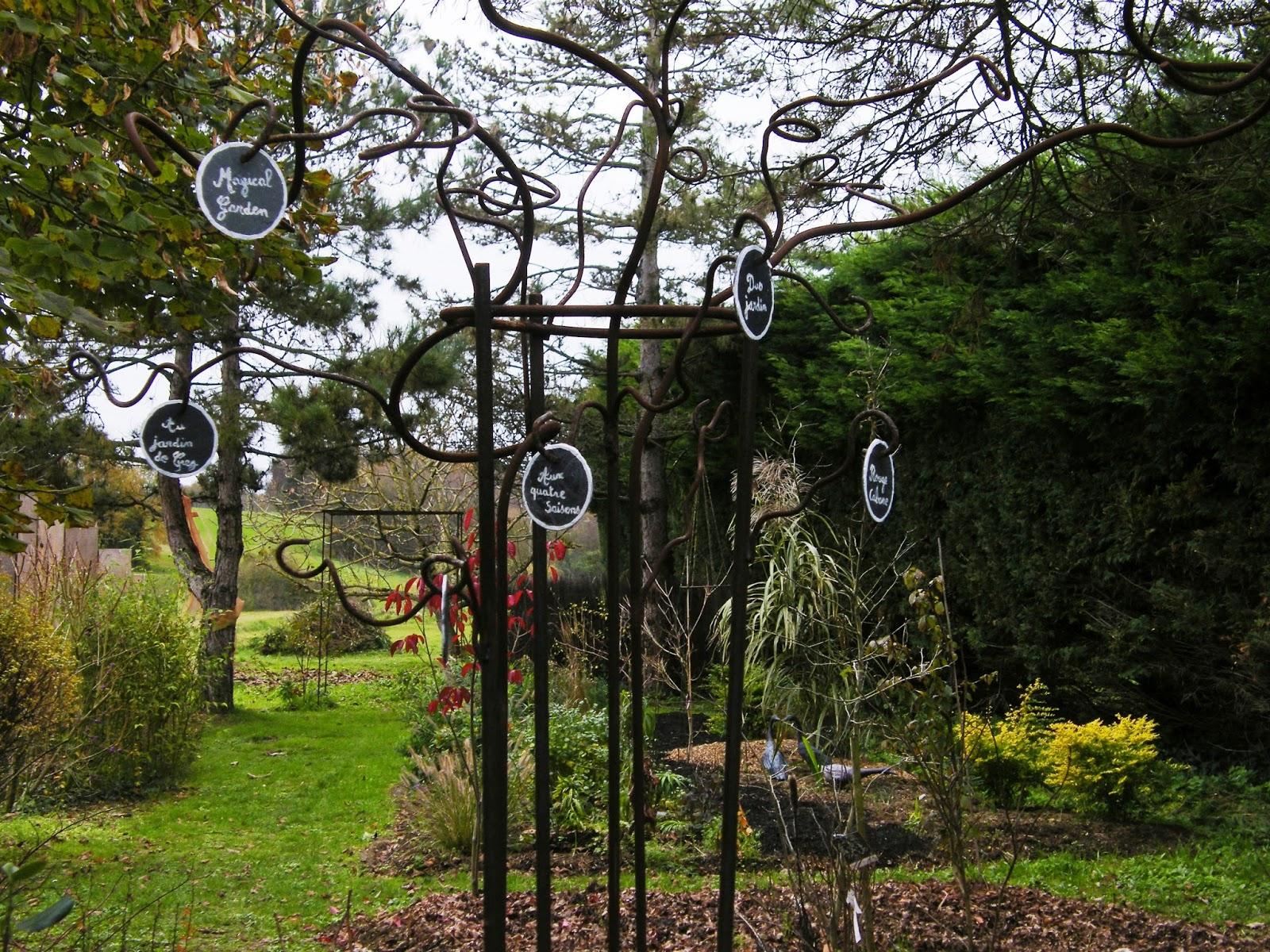 Au gré du jardin COURIR apr¨s Fran§ois Juranville
