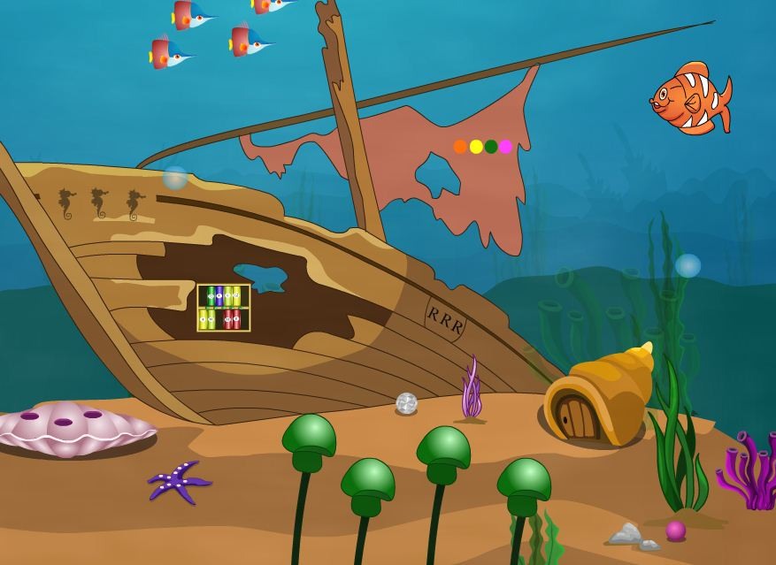 EightGames Rescue The Trapped Fish Walkthrough
