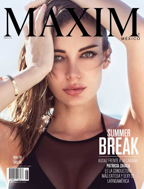 Model, Television Host @ Patricia Zavala by Marcovich for Maxim Mexico, June 2015