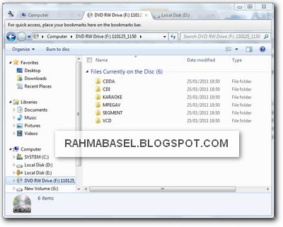 Clover 2 membuat tab baru di windows explorer
