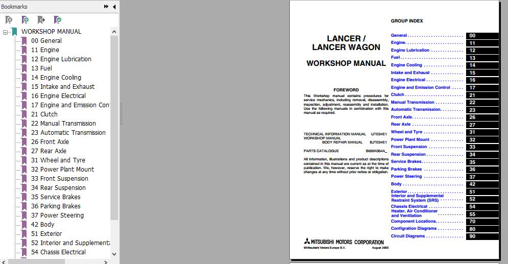ce lancer workshop manual daily instruction manual guides u2022 rh testingwordpress co 2009 Mitsubishi Lancer GTS Specs 2014'Subishi Lancer Manual