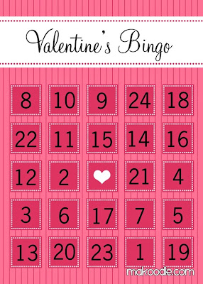 Refreshing image regarding printable valentine bingo card