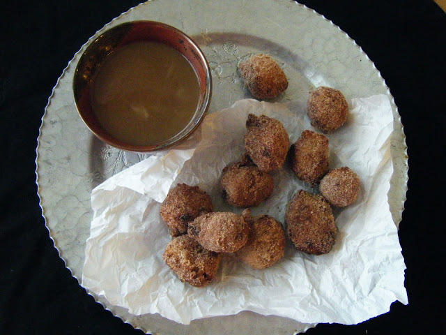 Bananas Foster Fritters: Baked Sunday Mornings