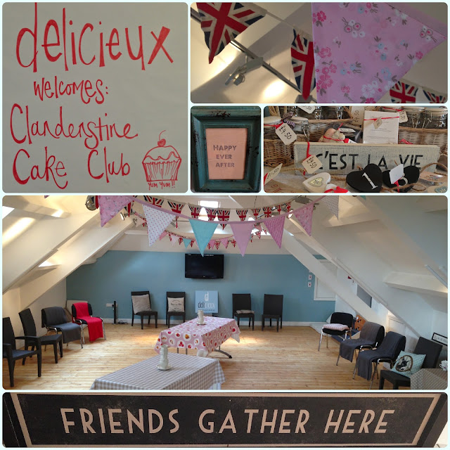 Bolton Clandestine Cake Club at Delicieux