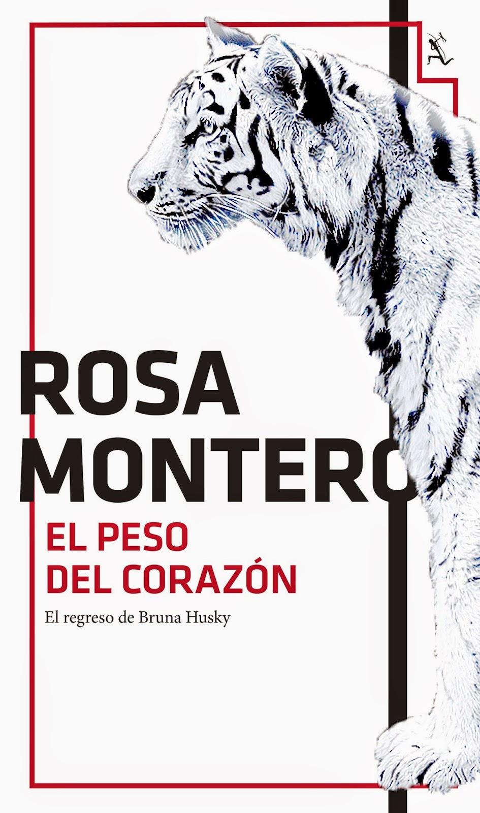 Ranking Semanal: Número 11. El peso del corazón, de Rosa Montero.