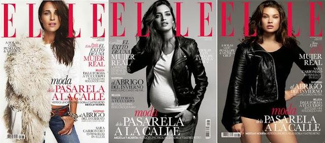 Portadas Elle noviembre 2013