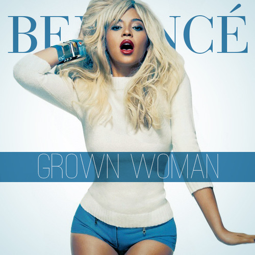 Capa do álbum Beyoncé – Grown Woman (2013)