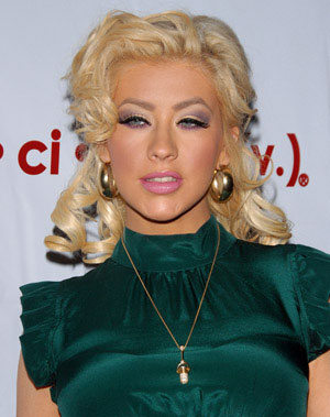Christina Aguilera Sweetheart Curls Hairstyle.