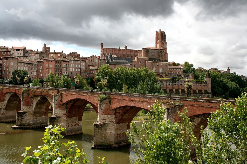 The Old Bridge in Albi, France