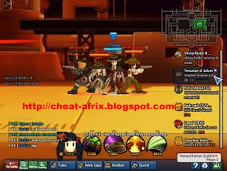 Cheat Lost Saga Indonesia Fullhack Work 2013