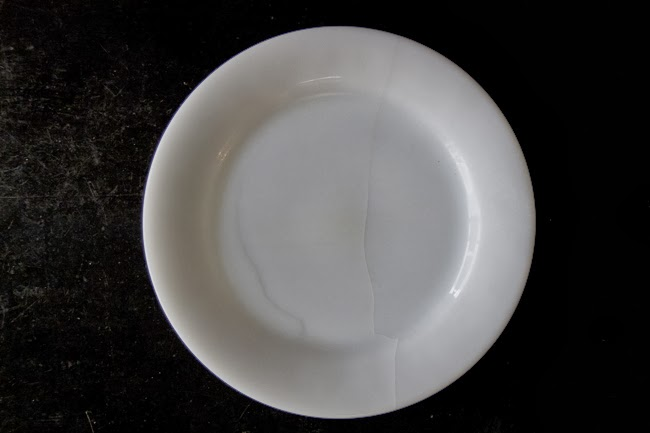 Fire-King RW Dinner Plate