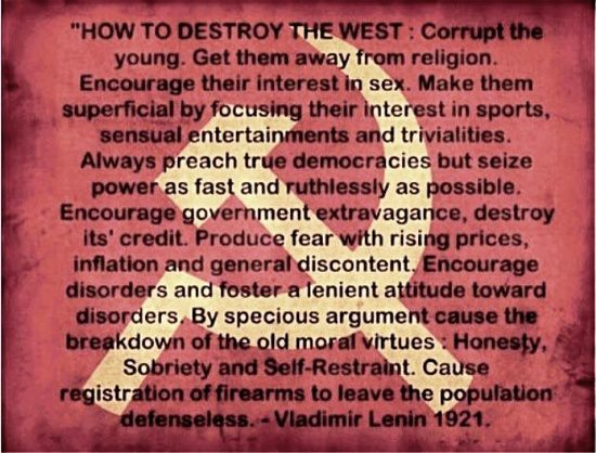 How To Destroy The West