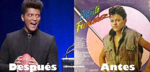 Peinado Bruno Mars