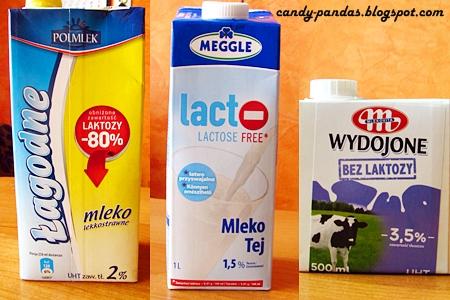 Mleko o obniżonej zawartości laktozy #2