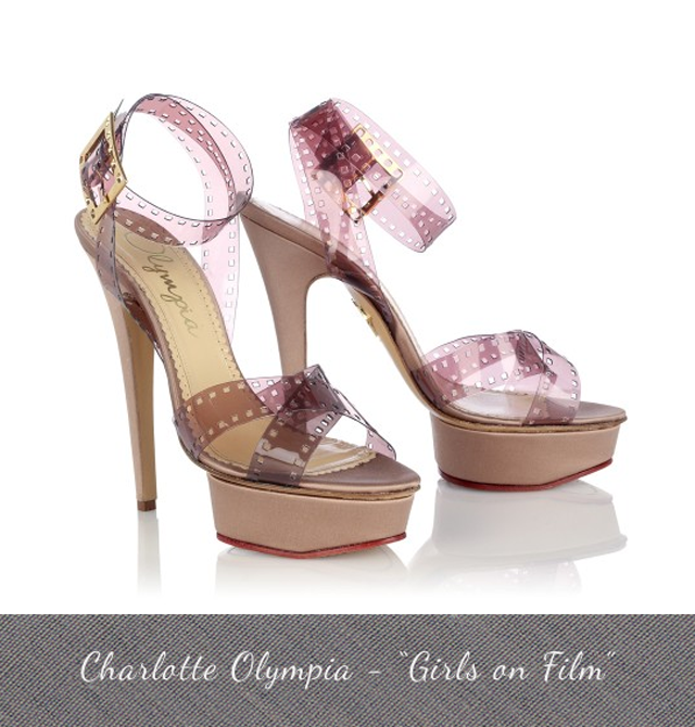 Charlotte Olympia Pre Fall 2013 Shoes Girls on Film Hollywoodland Collection
