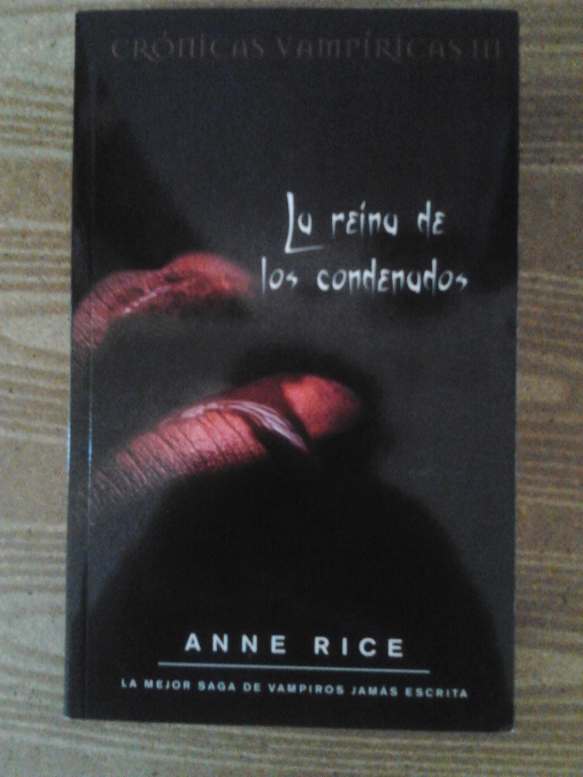 La Reina de los Condenados - Anne Rice