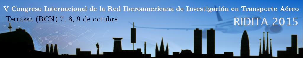 V Congreso Internacional de la Red Iberoamericana de Investigación de Transporte Aéreo