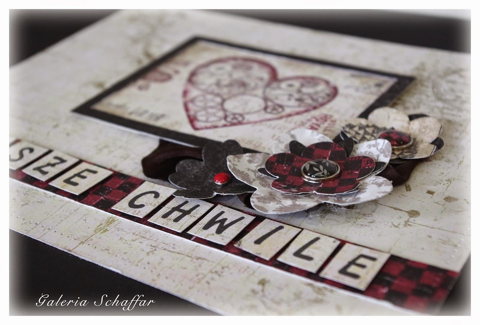 nasze chwile ręcznie robiony album papiery Holmes in Love , Galeria Schaffar