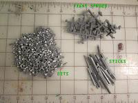 Warhammer 40k Barricade components