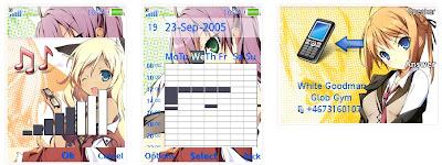 「迷茫管家與懦弱的我」SonyEricsson手機主題for Elm/Hazel/Yari/W20﹝240x320﹞
