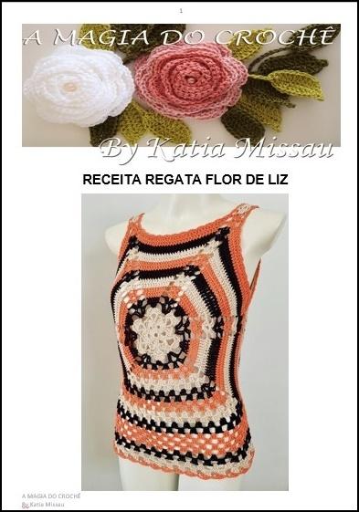 Receita Regata Flor de Liz