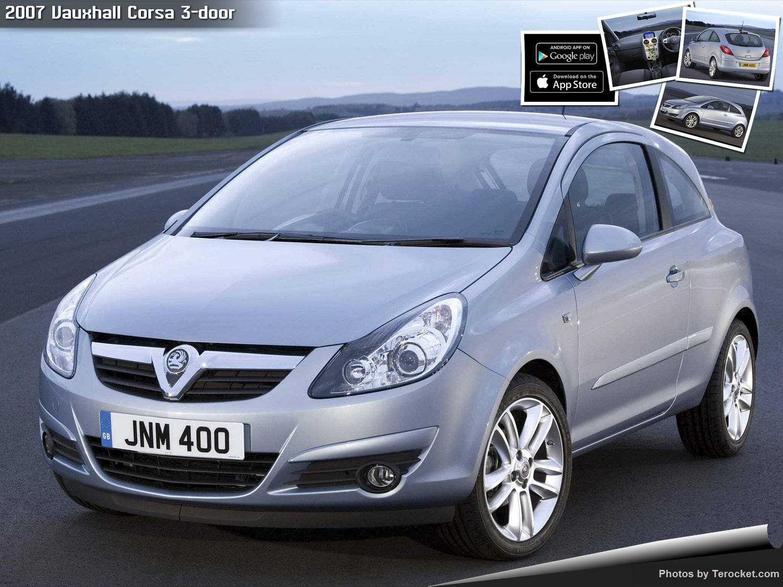 Hình ảnh xe ô tô Vauxhall Corsa 3-door 2007 & nội ngoại thất