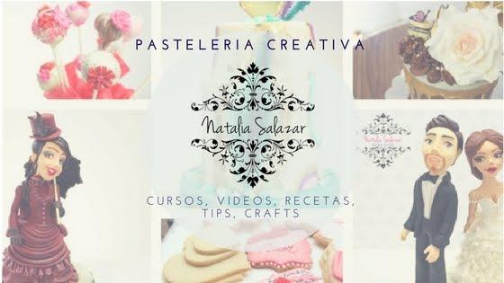 """""""NataliaSalazar-PASTELERÍA CREATIVA"""" cake design"""