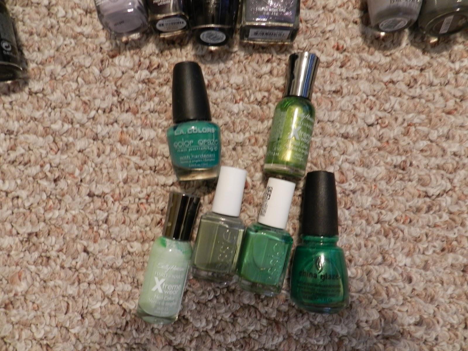 Seemingly Trivial Matters: All of my nail polishes!