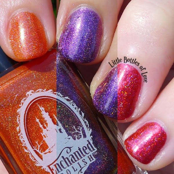 Enchanted Polish May 2014 June 2014 July 2014 Swatch