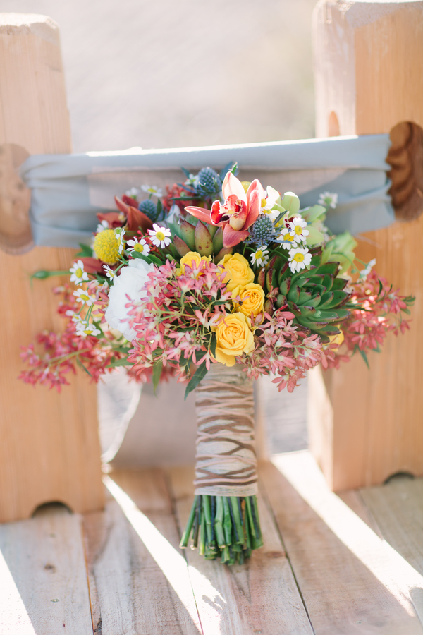 Wildflower Bridal Bouquet Trend For Fall 2013