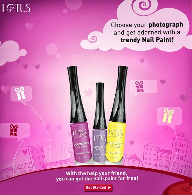 Win an amazing NailPaint from Lotus Herbals