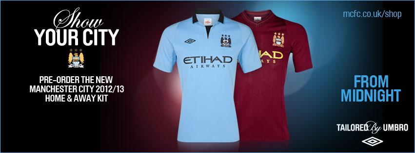 Man City 2012 Uniforme