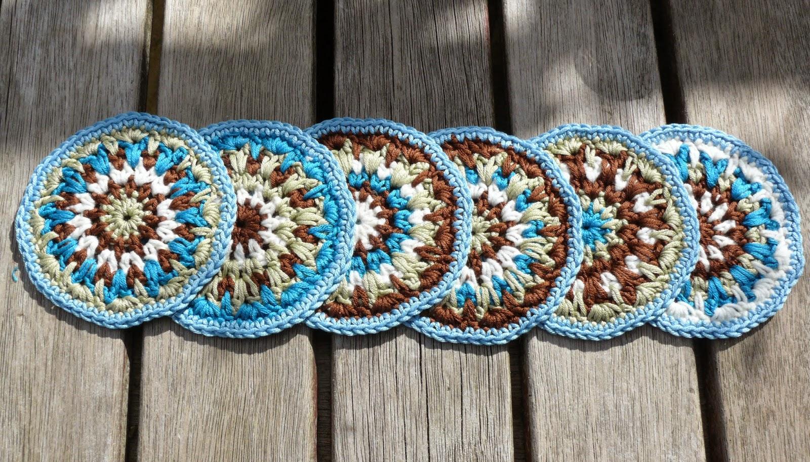 String Theory Crochet: Free Crochet Coaster Pattern.