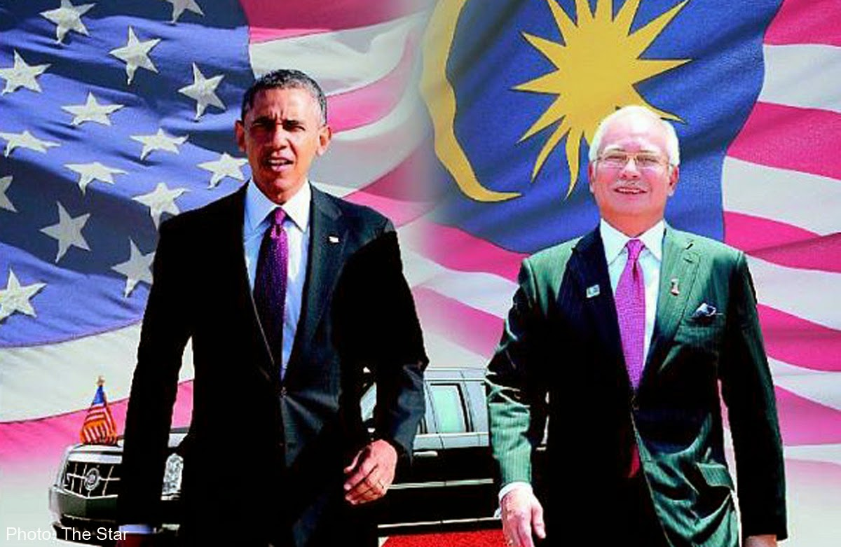 Malaysia dan Amerika menentang Pertubuhan Negara Islam Irak dan Syam