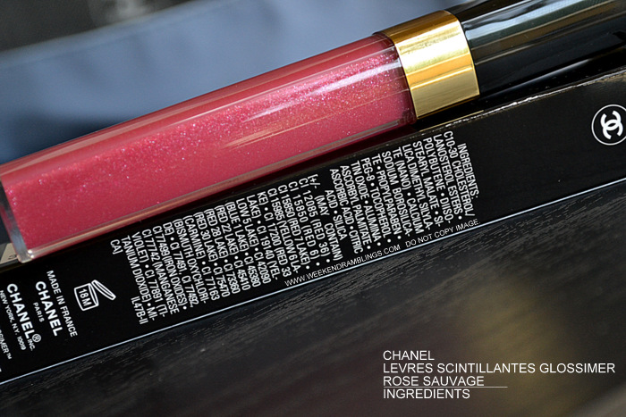Chanel Levres Scintillantes Glossimer Rose Sauvage 172 Revelation Makeup Collection Spring Summer 2013 Photos Swatches Review FOTD Makeup Beauty Blog Indian Darker Skin Ingredients
