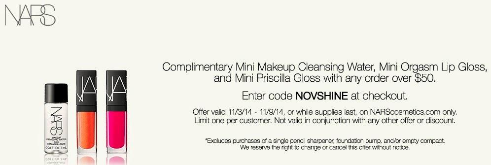 NARS Cosmetics Promo