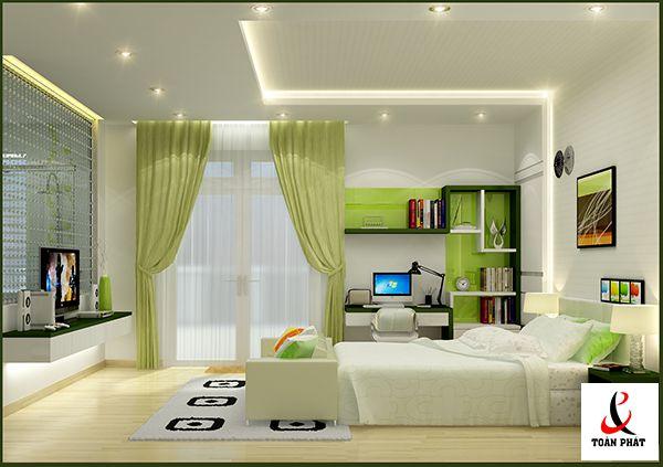 vật liệu thiết kế trần nhà 5