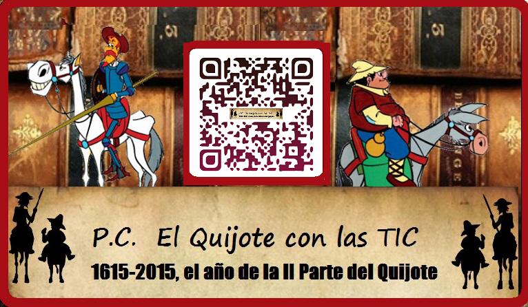 Participamos en el IV Centenario de la 2ª Parte del Quijote 1615-2015