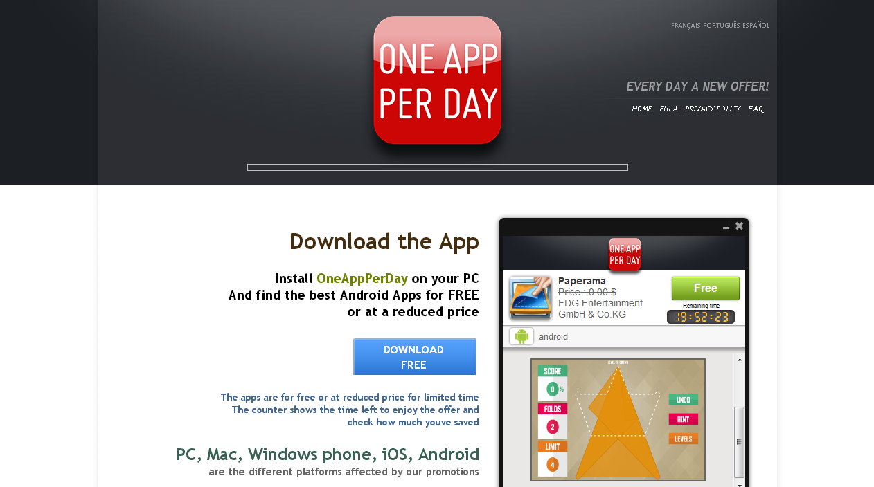 OneAppPerDay