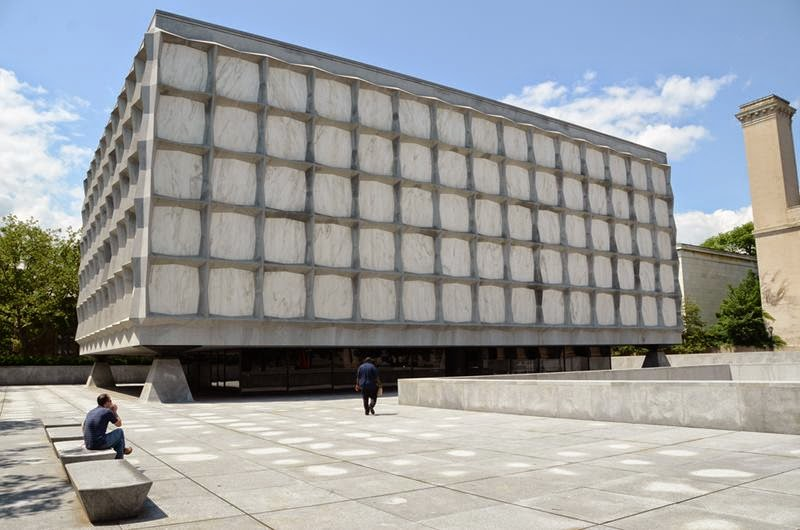 The Beinecke Rare Book & Manuscript Library is the rare book library and literary archive of the Yale University Library in New Haven, Connecticut. Situated on Yale University's Hewitt Quadrangle, the building was designed by Gordon Bunshaft of Skidmore, Owings & Merrill and completed in 1963