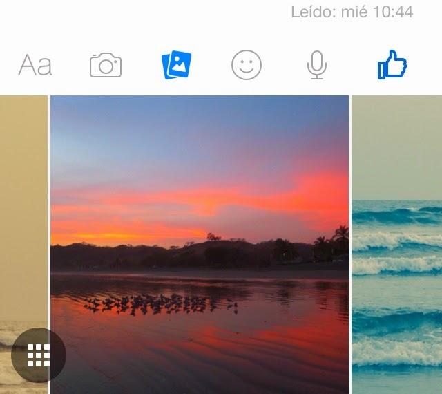 facebook messenger español